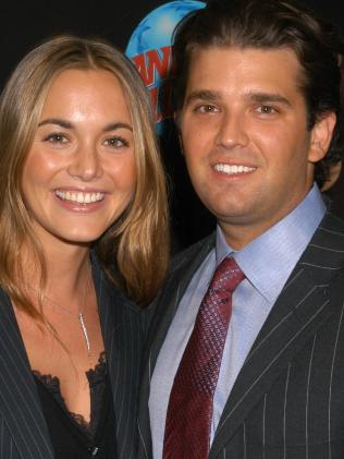 Donald Trump Jr. and then girlfriend Vanessa Haydon. Picture: Splash
