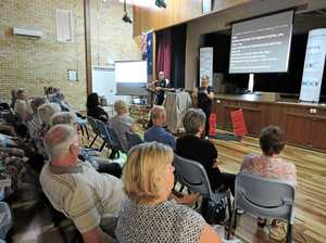 Maryborough's senior drivers pack centre for free road safety seminar