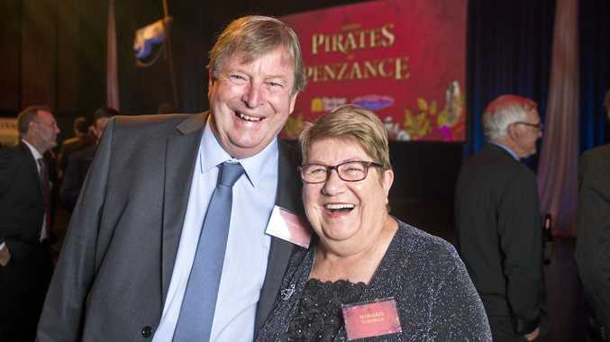 Vic and Margaret Turnbull looking forward to the Pirates of Penzance at the Armitage Centre.
