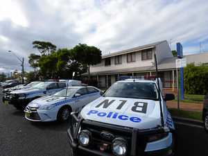 Police stop drive-off ends in loaded firearm encounter