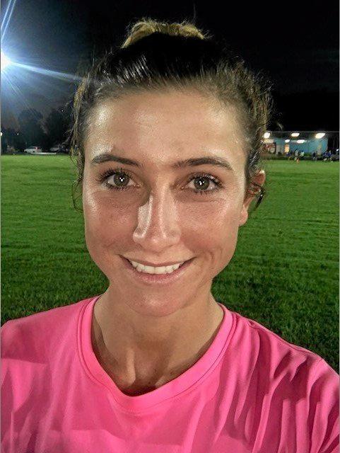 Ipswich City Bulls goalscorer Nikki Cox.