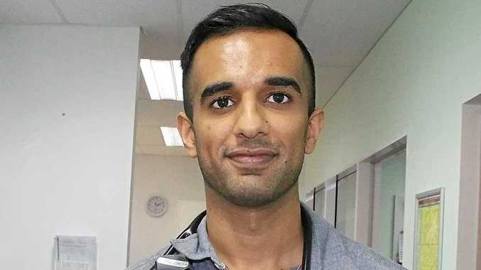 NEW EXPERIENCE: Dr Farhan Masud enjoyed his stint at Theodore Hospital.