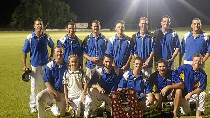 MASTER BLASTERS: Harwood clinch night cricket decider