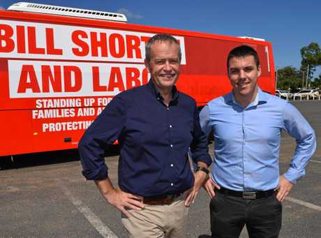 Federal Opposition Leader Bill Shorten will hold a Q&A session with Zac Beers tomorrow night in Gladstone (file photo)