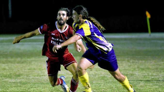 Hervey Bay Football - United Warriors versus Bargara - Mens.