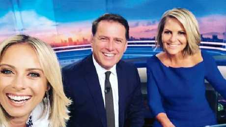 Georgie Gardner on her first day as the new Today co-host.