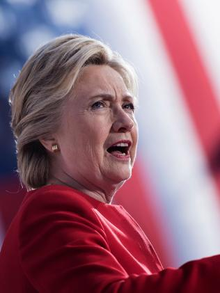 Hillary Clinton. Picture: AFP