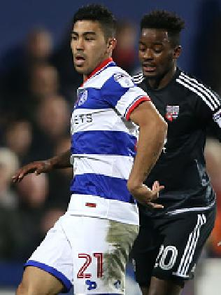 Massimo Luongo in action for QPR.