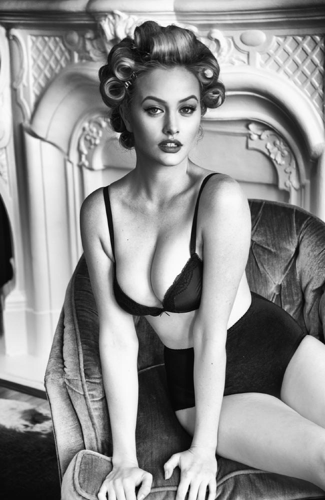 Simone modelling for a Guess campaign. Picture: Tatiana Gerusova.