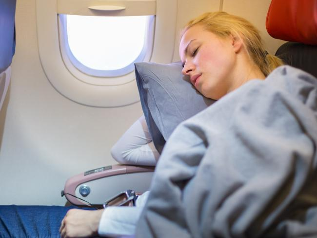 A dab or spritz of lavender on your pillow can help your body relax for sleep (and helps cover up undesirable smells in the cabin). Picture: iStock