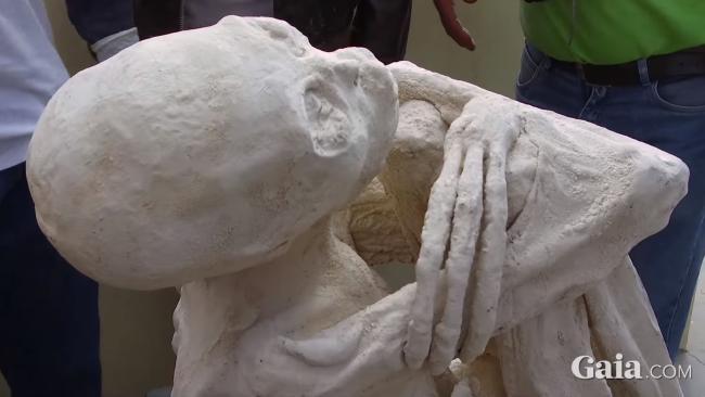 Truth behind 'alien' mummies