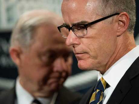 Mr McCabe said his credibility had been attacked. Picture: AFP