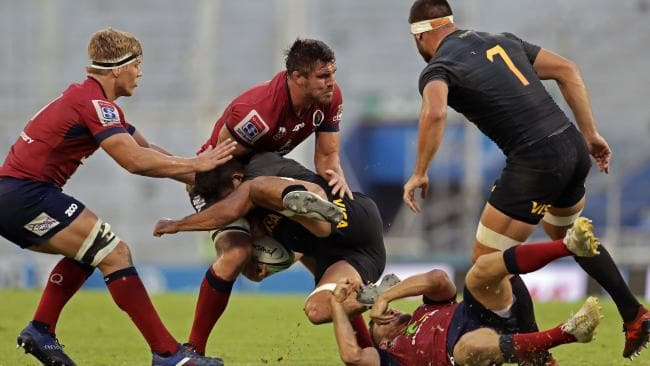 For the first time since 2013, the Queensland Reds have won three straight matches.