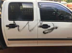 Toowoomba man fuming after ute targetted by vandals
