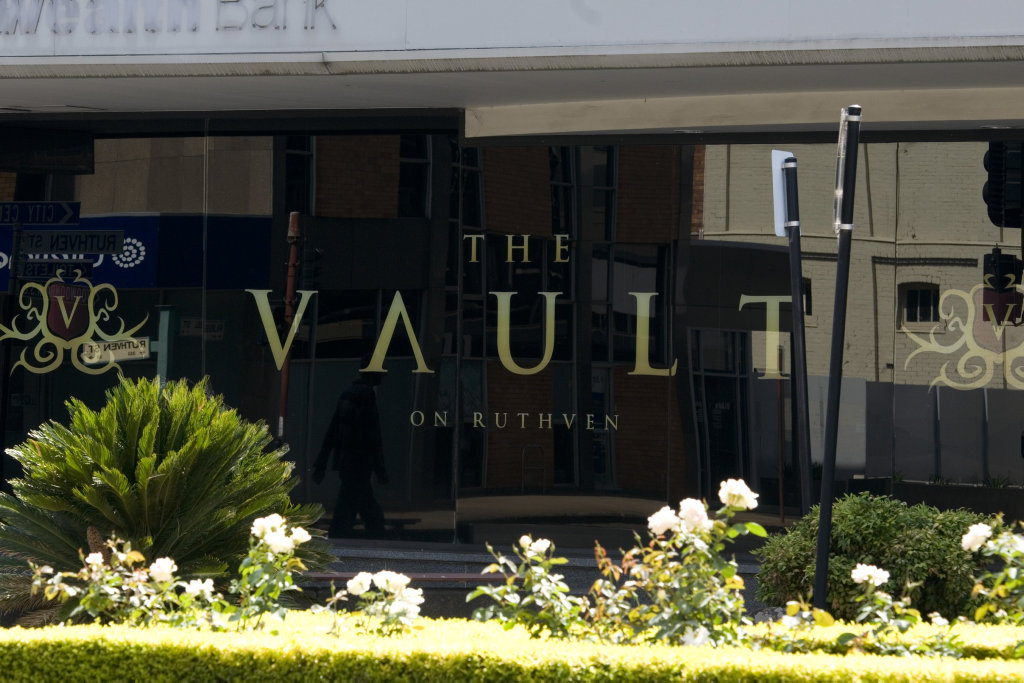 The Vault on Ruthven St in Toowoomba's CBD.
