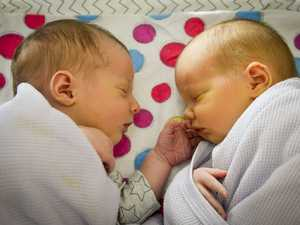 Stella Rose and Archer James Briskey were born at