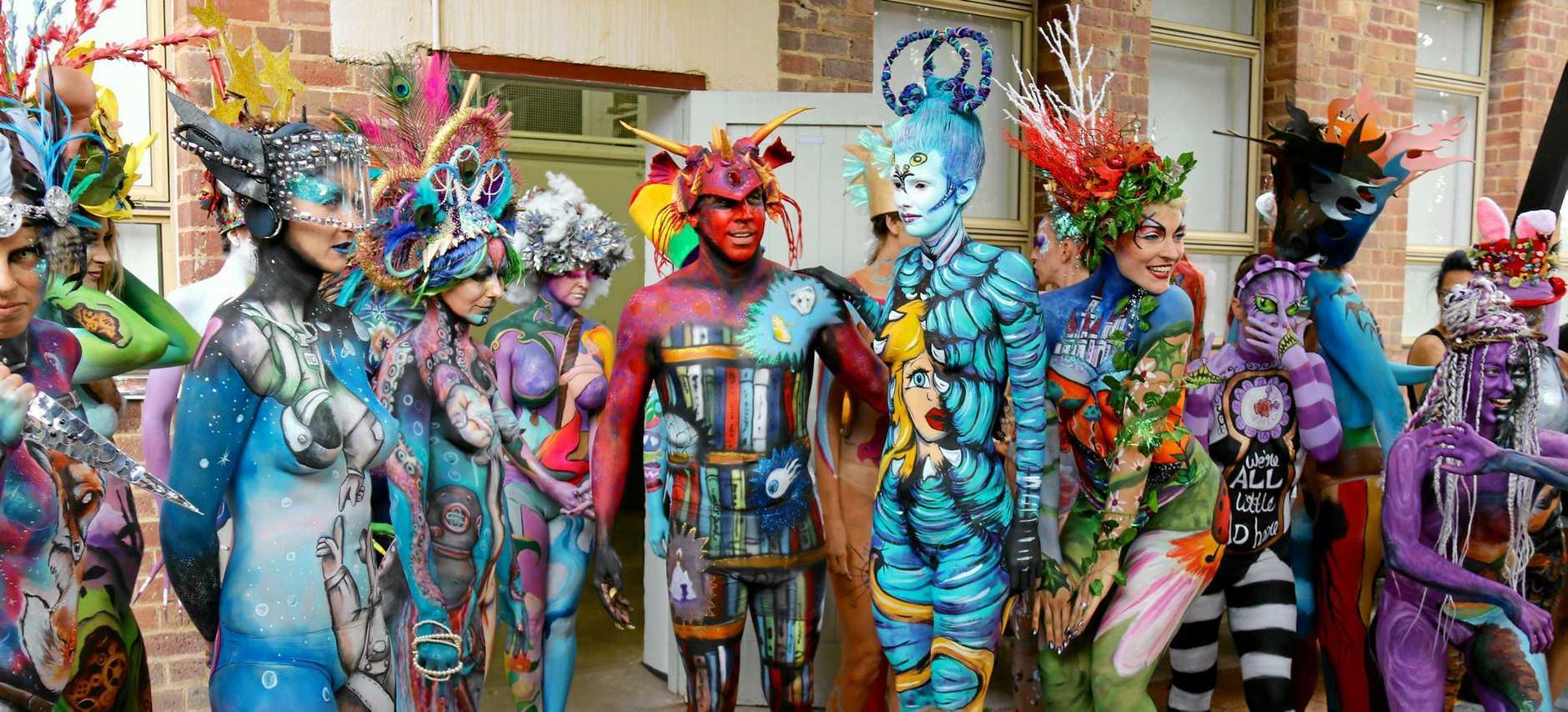 Cooroy S Wild Body Art Noosa News