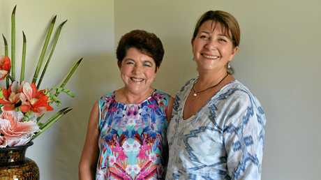 Diane Murphy and her boss Julie Williams from from Walkerston Natural Therapies Centre farewelling Di on her retirement.