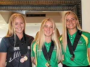 Roma sisters make waves at waterskiing competitions