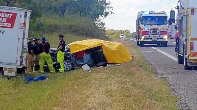 Two feared dead in Bruce Highway crash