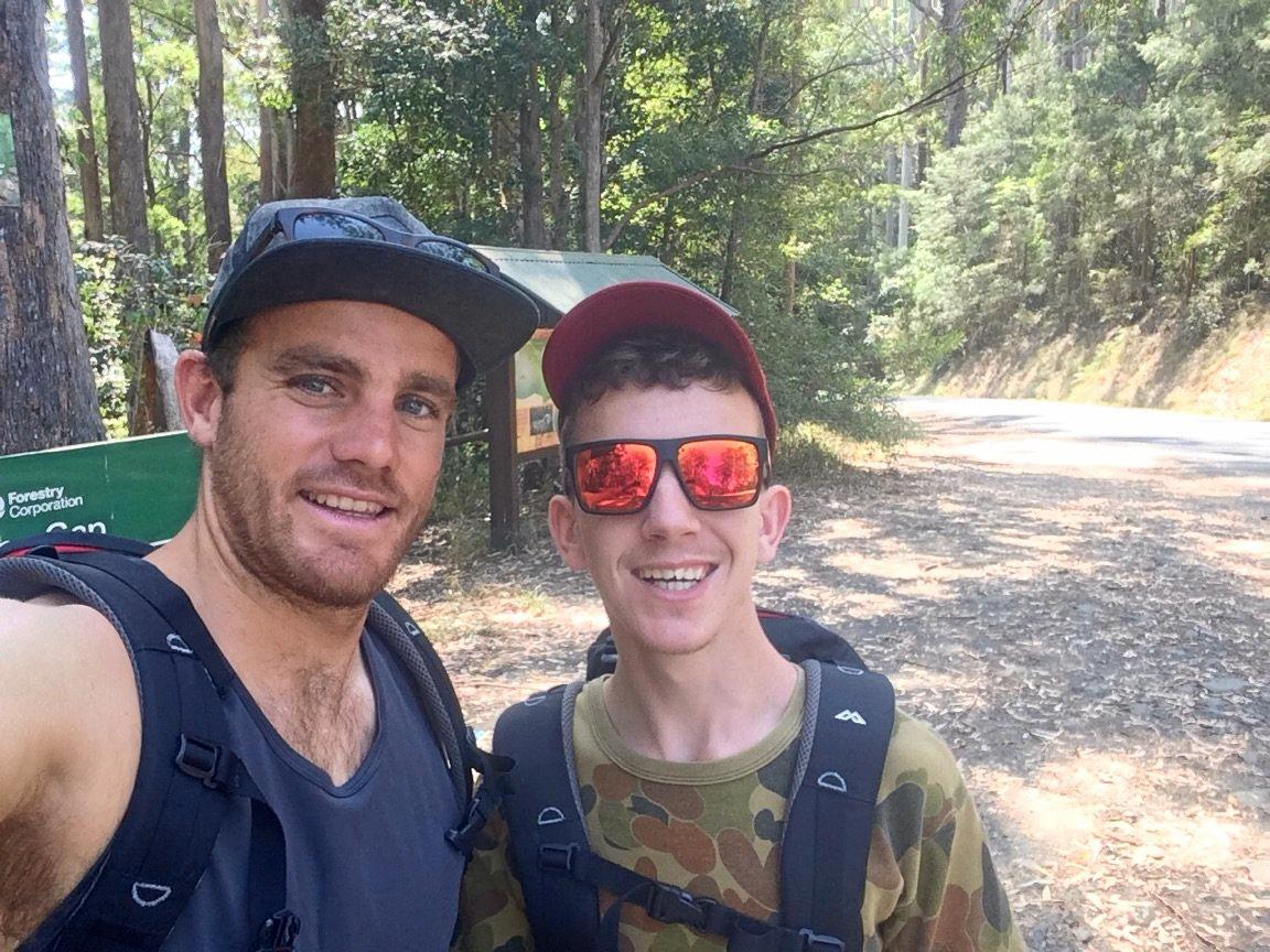 Support worker Joel Durbidge and Ben Norton will attempt to tackle Mt Everest.