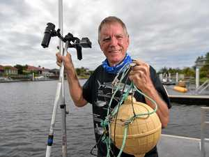 Expert gets ball rolling on bull shark canal study