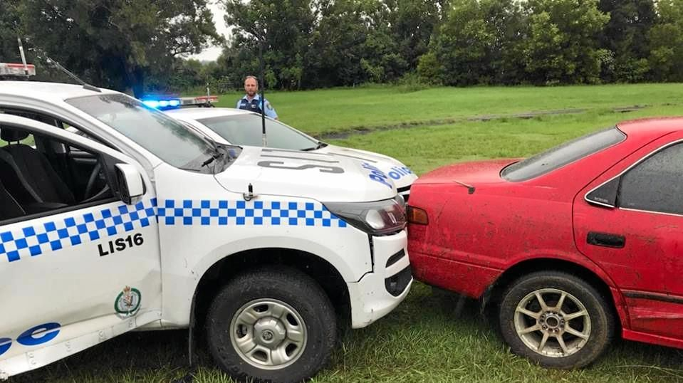 The results of a dramatic police pursuit through Lismore on March 6.