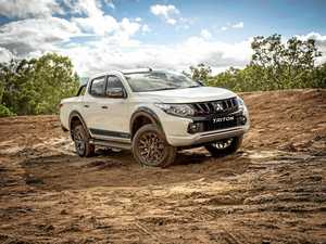 Mitsubishi Triton gets tough Blackline treatment