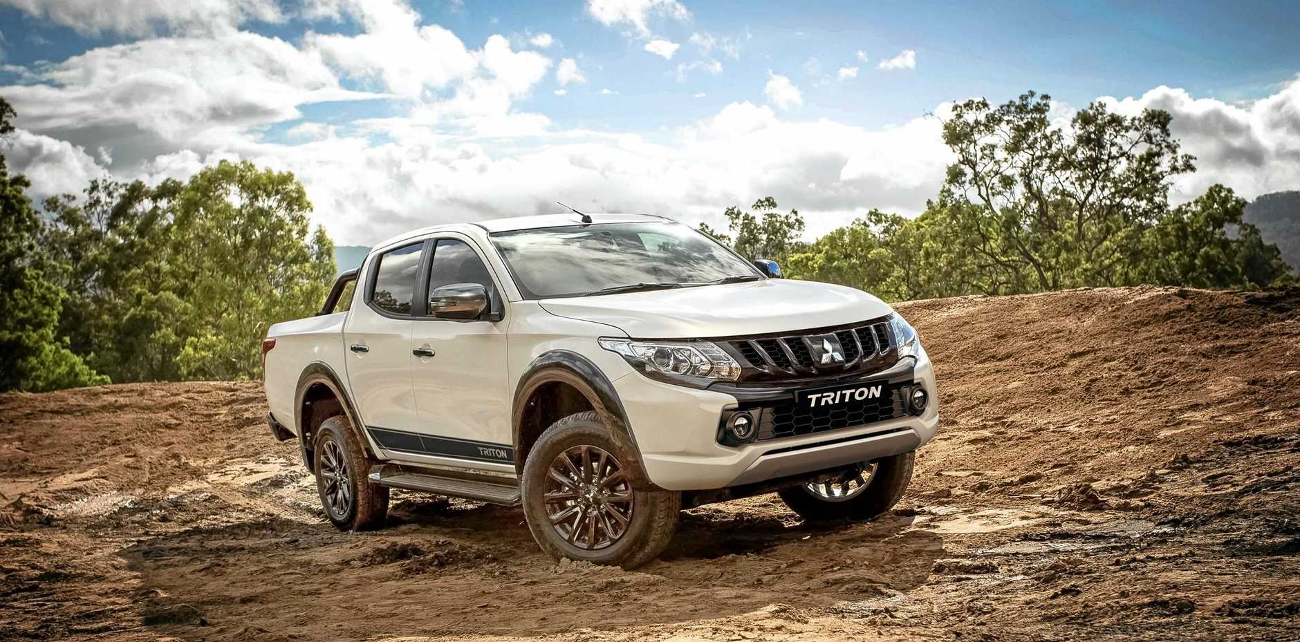 This limited edition Triton Blackline model based on its popular 2018 GLS 4x4 Double Cab.