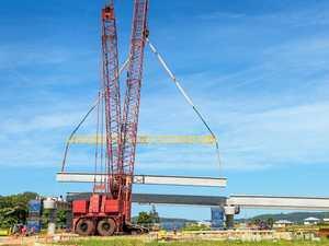 Highway closures as girders come across Harwood bridge