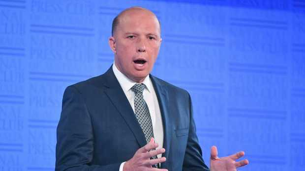 At least Peter Dutton has one supporter on the issue of white South African farmers.