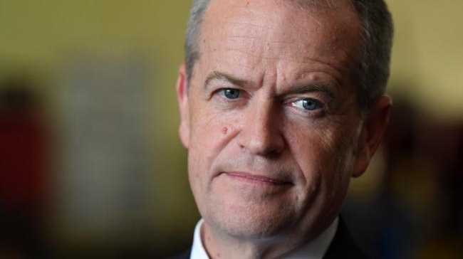 Opposition leader Bill Shorten will be in Gladstone today.