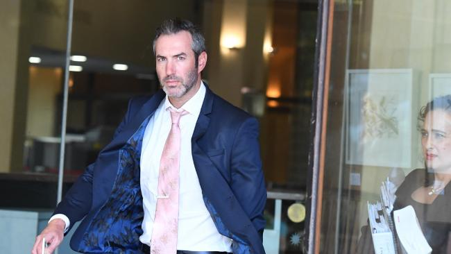 Sydney businessman Liam Gordon Murphy is fighting allegations he sexually assaulted two women he met via online fetish forum Fetlife. Picture: AAP /Peter Rae.