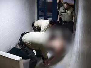 Parents see video of son's death in custody