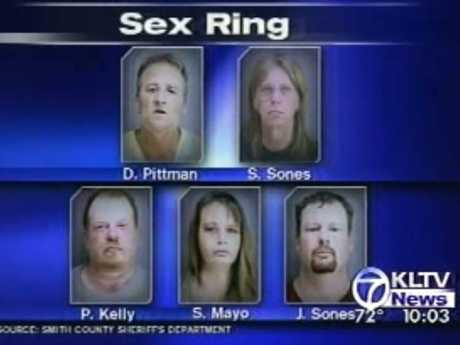 News of the supposed sex ring was spread around Texas at the time. Picture: KLTV