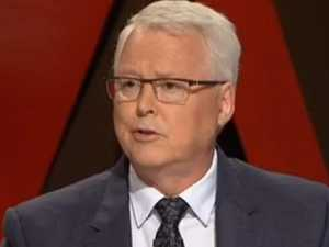 Cheers as Tony Jones hits back at ABC funding question
