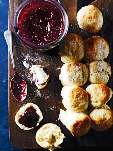 Classic scones. Picture: Mark Roper