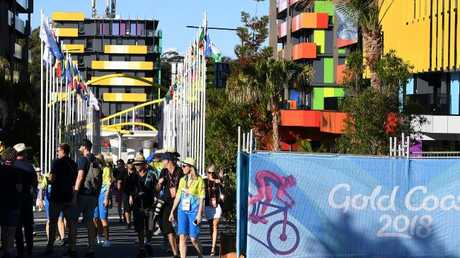 Preparations continue ahead of the Gold Coast Commonwealth Games. Picture: AAP Image/Dave Hunt
