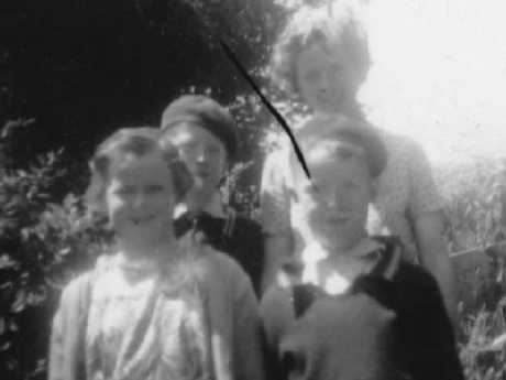 Hazel Baron and her siblings Allan, Margaret and Jim pictured in 1954.