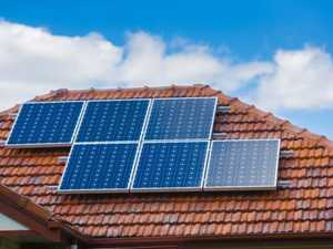 Solar panels pushing prices up