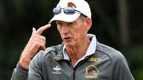 Wayne Bennett has adopted a siege mentality already. (AAP Image/Dave Hunt)