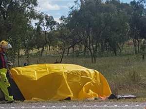 Horror crash kills two on Bruce Highway