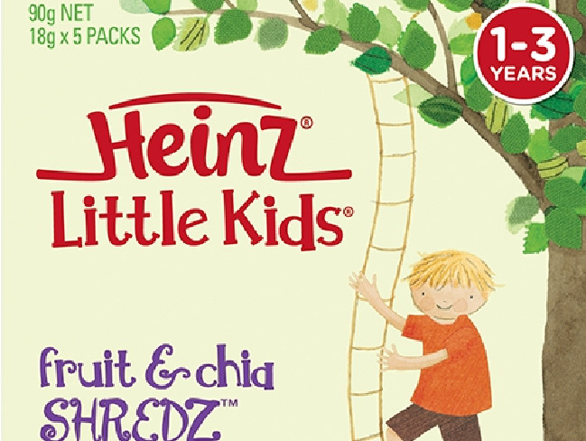 The court previously heard Heinz Little Kids fruit snacks were 'not good for toddlers'.