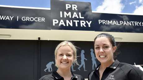 Better Business: Primal Pantry Liz Geiger (left) with the owner Christy Cotroneo. Photo: Bev Lacey / The Chronicle