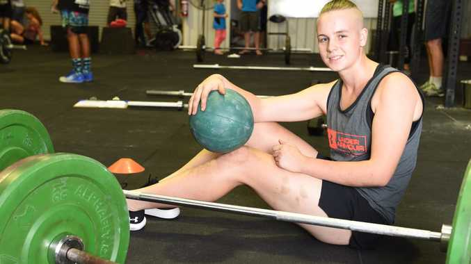 Mechanic, 18, smashes goals with CrossFit
