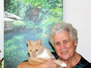 Karen Chatfield with Hank, who is close to 10 years