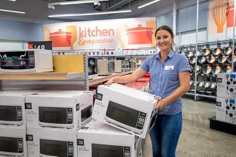 Kmart store manager Katrina Tregoning.