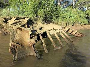 LOOKING BACK: Skeleton shipwreck has interesting history