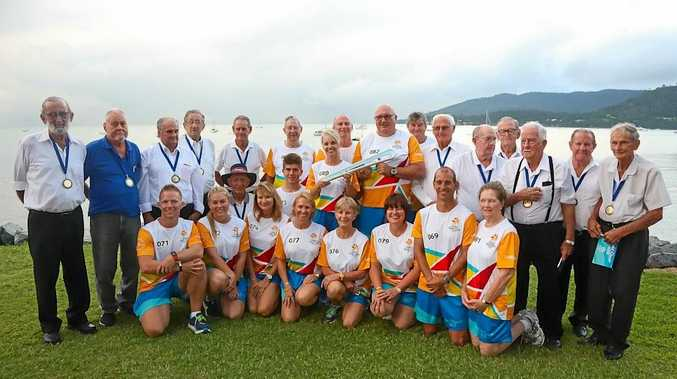 The Commonwealth Games Queen's Baton Relay comes to the Whitsundays.