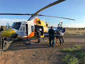 CQ rider trampled by horse after fall